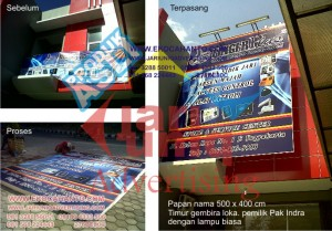 baliho billboard reklame finger plus di jogja