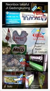 neonbox ayam-ayam di jogjakarta by jariuniqAdvertising