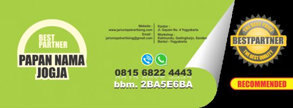 jariuniq papan nama neonbox running text dan huruf timbul jogja papan nama