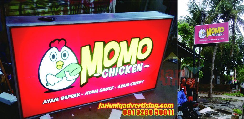 Neon Box Momo Chicken